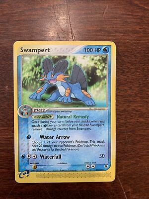SWAMPERT 23/109 Non-Holo EX Ruby and Sapphire Pokemon Card !