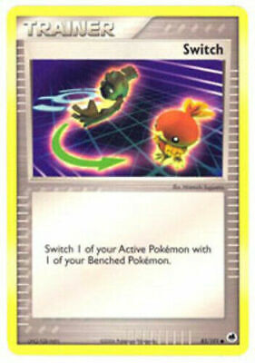 Switch - 83/101 Common Ex Dragon Frontiers Pokemon Card GOOD