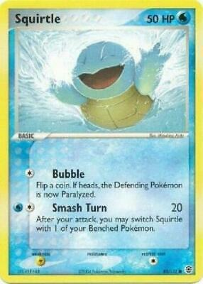 Squirtle - 83/112 - Common FireRed & LeafGreen Pokemon GOOD-EXC