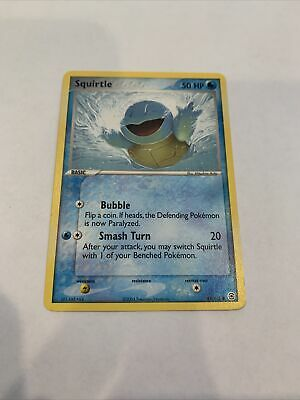 Squirtle 83/112 Non Holo Common EX FireRed LeafGreen Pokemon Card
