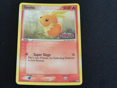 Pokemon Ex Power Keepers - Torchic 67/108 Reverse Holo NM
