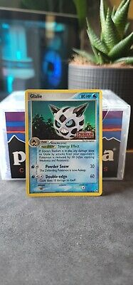 Glalie 30/108 Reverse Holo Stamp Pokemon Ex Power Keepers 2007 LP