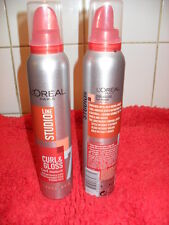 Hair Styling by L'Oreal Paris Studio Line Curl Mousse 200ml  x 2