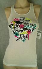 Vans Warped Damen Shirt/Top/T-Shirt Farbe White Größe M