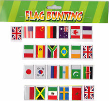 25 Flags of the World 7m World Cup Rugby Football Olympics International Flags