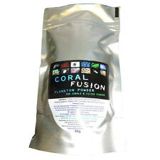 CORAL FUSION Reef Food [50g] Plankton Powder Zooplankton Phytoplankton LPS snow