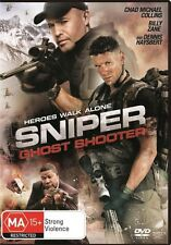 SNIPER:Ghost Shooter-Billy Zane-Region 4-New AND Sealed