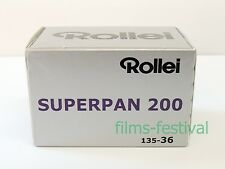 3 rolls Rollei SUPERPAN 200 35mm 36exp Black and White Film 135-36