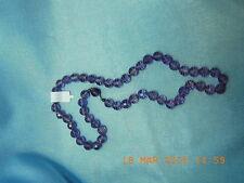 Amethyst Perlen Halskette Lang 52 cm Zustand sehr gut.