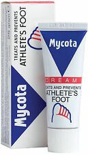 Mycota Athletes Foot Cream 25g- Treats And Prevents Athletes Foot