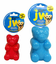 JW Dog Puppy Super Tough Floating Squeaky Durable Play Toy - Megalast Bear Large