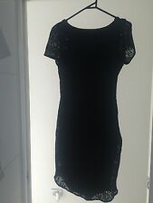 Minna Size 12 Black Lace Dress