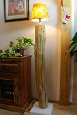 XL Driftwood Floor lamp Teak solid Thailand natural Country cottage shabby