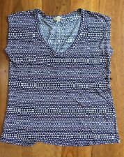 Witchery patterned top / T-shirt - Size S (fits M too)