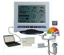 Wireless Professional Solar Weather Station with PC Link