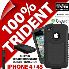 New Trident Cyclops II 2 Protective Hard Shell Case Cover for Apple iPhone 4 4S