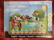 Lern Computer Tablet Pad für Kinder - OVP - NEU - Lernen Spielen Musik Sprachen