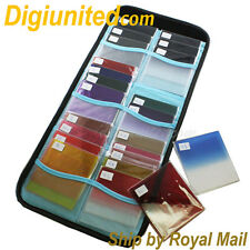24-in-1 Square Graduated Gradual + Solid Color Filter Kit for Cokin P Series UK