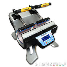 NEW IN ! DOUBLE Mug Heat Press ST-210 Sublimation Transfer Printing