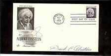 US AUTOGRAPHED FIRST DAY COVER SCOTT#1285, ALBERT EINSTEIN  1 SIGNATURE