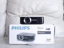 Vidéoprojecteur Pico Projecteur LED HDMI Philips Picopix PPX2480 TBE Complet