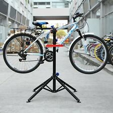 New!Folding Maintenance Bicycle Repair Stand Pedal Bike Cycle Mechanics Workshop