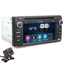 "Toyota LAND CRUISER HILUX YARIS SEQUOIA Car 2DIN DVD Player GPS 6.2"" Backup Cam"