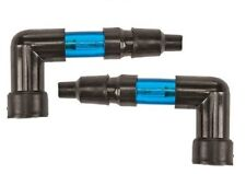 PAIR of Harddrive Lighted Spark Plug Caps BLUE NEON 90 degree FITS MOST Honda