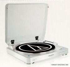 Audio-Technica AT-LP60WH-BT Automatic Wireless Belt-Drive Stereo Turntable White