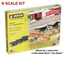 Noch 63804 N Scale Garden Houses 3pcs Building Structure Kit *NEW $0 SHIPPING