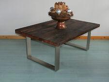 Couchtisch Beistelltisch Treibholz Wohnziemmertisch Tisch Eiche Massiv 120x80x48