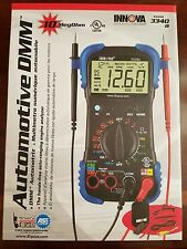 INNOVA 3340 Automotive Digital Multimeter 10MegOhm & Test Light 3410
