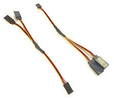 2x 15cm Y-Servokabel 150mm für Graupner JR V-Kabel Y-Kabel Verlängerung Splitter