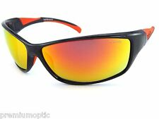 Bolle POLARIZED Sunglasses SPEED Black Red / TNS Fire red Mirror Oleo SF 11628