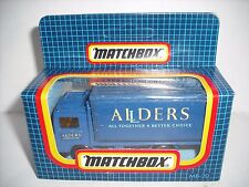 MATCHBOX SUPERFAST MB20 VOLVO CONTAINER TRUCK ALLDERS VHTF EUROPEAN PROMOTIONAL