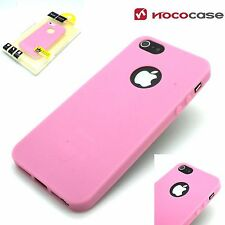 Hoco Juice Series Slim Back Case Cover For Apple iPhone 5 5S & SE -BABY PINK