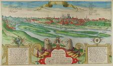 MÜNCHEN BAYERN ALTKOL ANSICHT RADIERUNG BRAUN HOGENBERG 1586 MUNICH VIEW BAVARIA