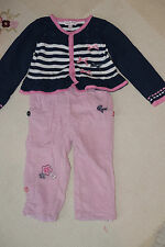 Sugar Pink Baby girl lovely cotton outfit 12 - 18 months