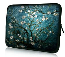 """Blue 15"""" 15.6"""" Laptop Sleeve Bag Case Cover For HP DELL Toshiba ASUS Sony Acer"""