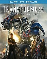 Transformers: Age of Extinction (Blu-ray + DVD Combo Set)