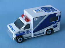 Matchbox Ford Ambulance White Blue and Silver 27 on Roof in BP