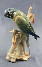 Wellensittich Vogel Vogelfigur porzellanfigur Ens porzellan figur alt