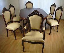 Dining Set, Esszimmer, im englischen Stil mit 6 Stühlen, NEU, VERSANDKOSTENFREI!