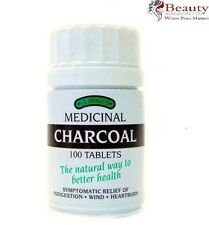 Bragg Charcoal 100 Tablets Lactose Free New Box