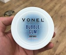 VONEL HAIR WAX STRONG HOLD 150ML BUBBLE GUM SCENT POMADE TEXTURE FINISH