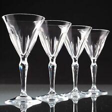 4 Vintage Peill Kristall Weingläser Weißweingläser Gläser klar U4U