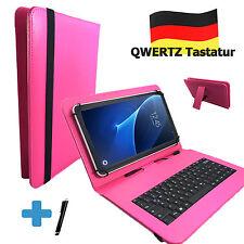 Deutsche Tastatur Hülle Samsung Galaxy Tab 2 10.1 10.1 zoll Tablet Tasche Pink