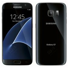 Brand New Samsung Galaxy S7 BLACK Lte 32GB Unlocked Smart Phone-1Year Wty+6GIFTS