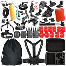 47in1 Sets Camera Floating Monopod Mount Kit For GoPro Hero 1 2 3 4 Accessories