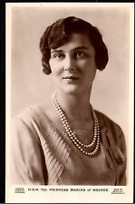 ROYALTY Postcard ~ PRINCESS MARINA of GREECE Duchess of KENT ~ c1930s